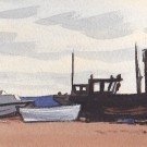Fishing Boats at Pevensey